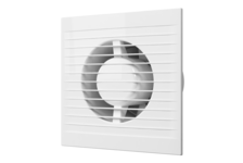 Вентилятор осевой вытяжной со шнуровым тяговым выключателем D100, OPTIMA4-02