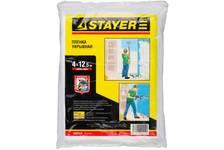 Пленка STAYER MASTER защитная укрывная, HDPE, 12 мкм, 4*12,5 м