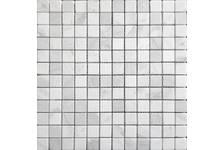 Мозаика Caramelle Mosaic Pietrine Dolomiti Bianco матовая, 298х298х4 мм, чип 23х23 мм