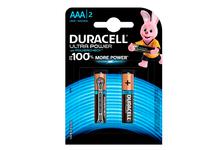 Элемент питания DURACELL Ultra Power LR03 AAА (уп /2 шт)