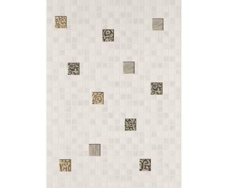 Декор Квадро белый  Мозаик (250х350) 1 сорт Фотография_0