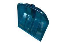 Лопата из поликарбоната Цветная ПК-4, 340*385 мм