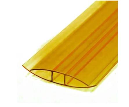 Профиль соединительный НP,  4 - 6 мм, желтый Фотография_0