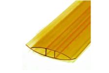 Профиль соединительный НP,  4 - 6 мм, желтый