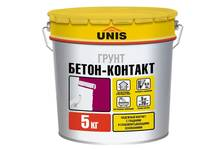 Грунт ЮНИС Бетон-контакт 5 кг