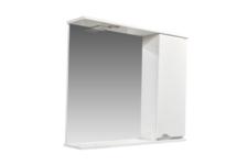 Зеркало-шкаф СТК Bello-C 80 с подсветкой, правый (белый)