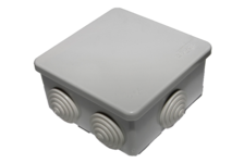 Коробка распределительная 80х80х50мм IP54, 7вх. TDM