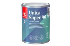 Лак алкидно-уретановый Tikkurila Unica Super 90 глянцевый, яхтный, износостойкий (0.9 л)