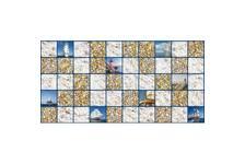 Панель ПВХ Grace Мозайка Море (955*480мм)